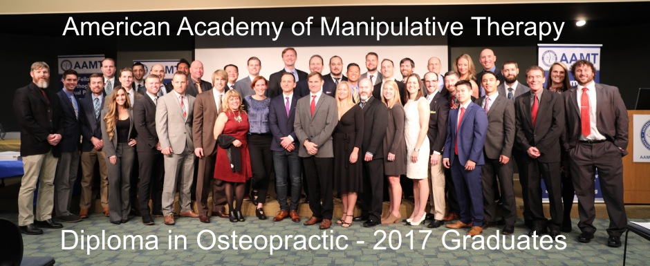 2017 Diploma in Osteopractic Graduates Picture